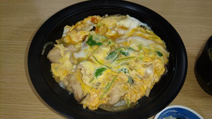伊勢堂岱温泉 縄文の湯  お食事処 胡桃 親子丼2
