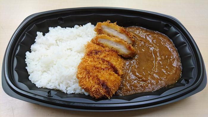 ビック・エーの大盛チキンカツカレー3