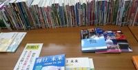 教科書展示会室内