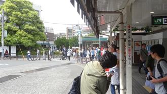 鎌倉駅前 TARI TARI 聖地巡礼