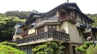 鎌倉文学館(ウィーンの家のモデル) TARI TARI 聖地巡礼