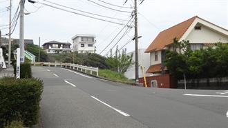 通学路(カーブの上り坂) TARI TARI 聖地巡礼