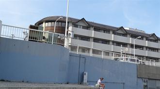 片瀬東浜公衆便所付近(海の家) TARI TARI 聖地巡礼