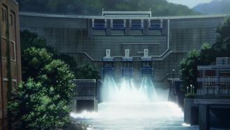 響け!ユーフォニアム 聖地巡礼 天ヶ瀬ダム(白虹橋から)