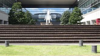 響け!ユーフォニアム 聖地巡礼 名古屋国際会議場(正面の階段)