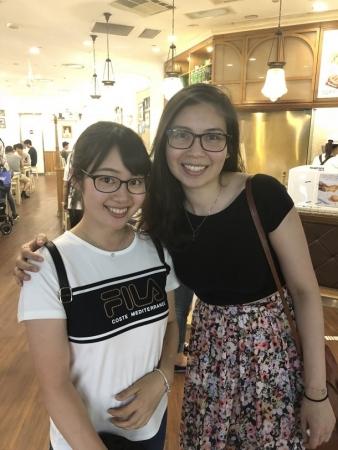 Jasmine Yeong-Nathanさんと眼鏡同士