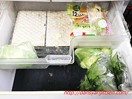 野菜室の断捨離