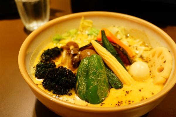 【スープカリーKING】野菜カリー【北菓楼】【北海道神宮】