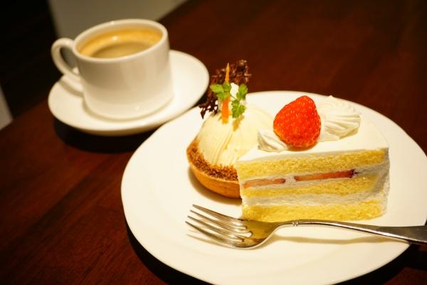 【ケーキハウスアルディ】ショートケーキ、チーズモンブラン【平岡公園】【百合が原公園】