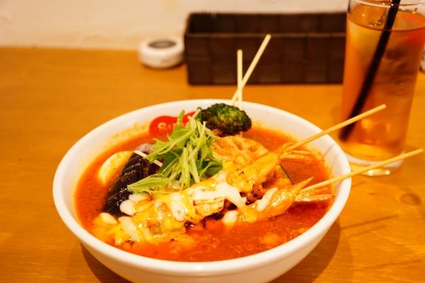 【Suage2】ソフトシェルシュリンプと野菜のカレー【石屋製菓】