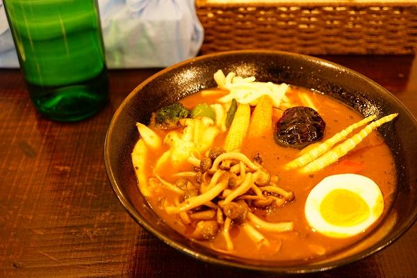 【北カフェ】きのこたっぷり山の恵/ソフトクリーム