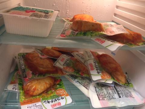 180518冷蔵庫サラダチキン