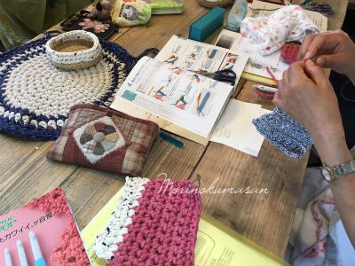 編み物レポ2
