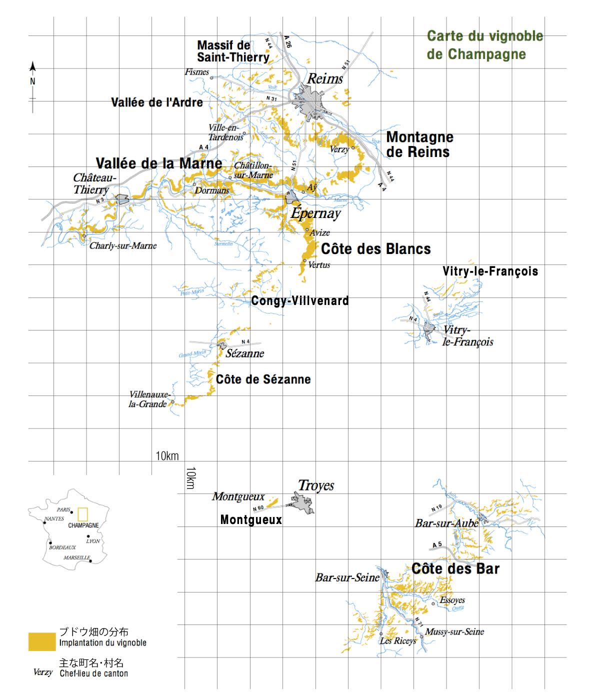シャンパーニュ地方map1