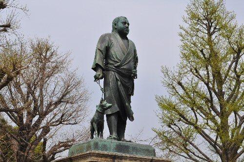 01c 500 20180402 西郷隆盛銅像 by 小川