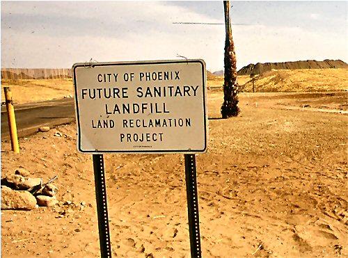 03 500 Sanitary Landfill sighn
