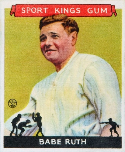 2a 500 1933_Goudey_Sport_Kings_02_Babe_Ruth
