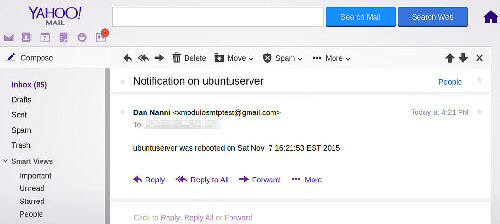4a inbox Yahoo mail