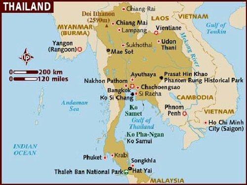 04d 500 Thailand map