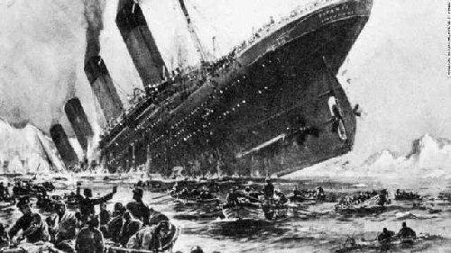 09da 500 Titanic sinking