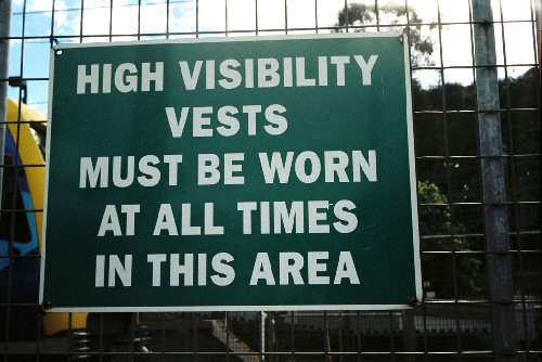 03a 500 sign HighVisibilityVests