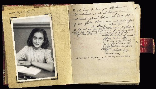9a 500 Diary AnneFrank 19420928