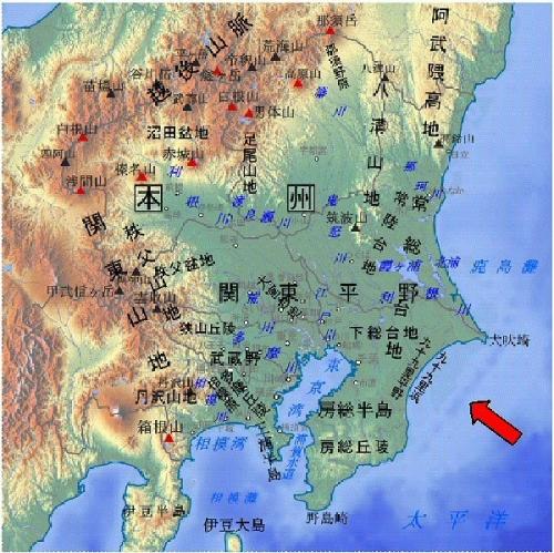 04b 600 九十九里浜 map