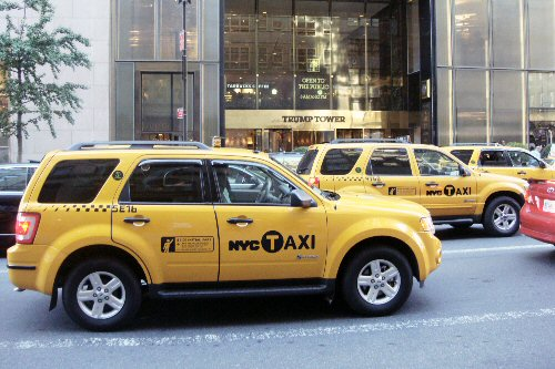 09b 500 HYbrid Taxi