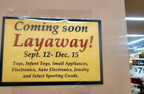 03a 500 Layaway