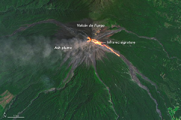 01a 600 Mt Fuego eruption