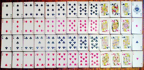 03a 500 set of playing cards