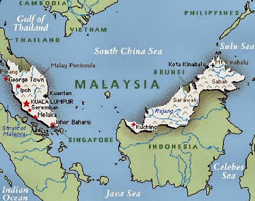 02a 500 map of Malaysia