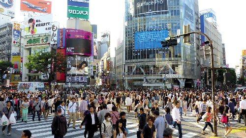 03b 500 渋谷駅前交差点