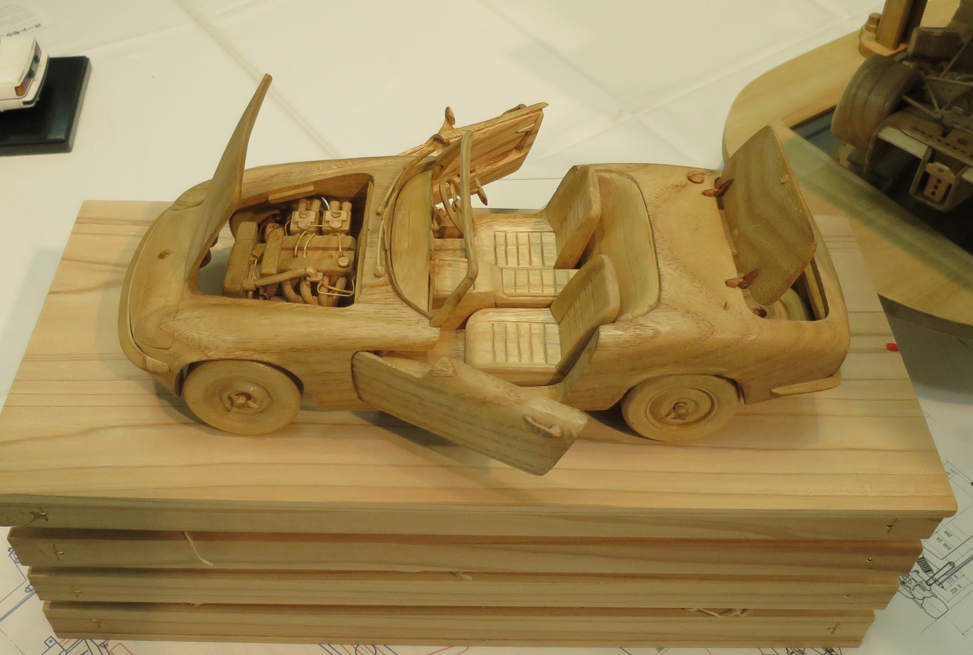 木製car2