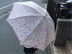 日傘 手作り ユザワヤ 隠れパンダ