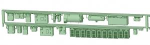 SB20-20 2連HS10【武蔵模型工房 Nゲージ 鉄道模型】-2