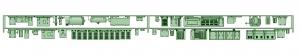 SB20-21 2連AK3【武蔵模型工房 Nゲージ 鉄道模型】