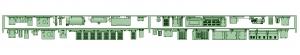 SB20-22 2連増備車HS10【武蔵模型工房 Nゲージ 鉄道模型】