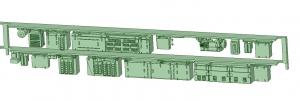 SB20-22 2連増備車HS10【武蔵模型工房 Nゲージ 鉄道模型】-1