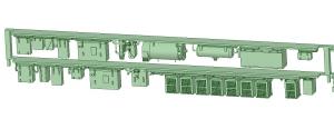 SB20-22 2連増備車HS10【武蔵模型工房 Nゲージ 鉄道模型】-2