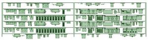 SB20-60 6連HB2000【武蔵模型工房 Nゲージ 鉄道模型】
