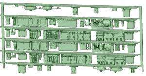 SB20-60 6連HB2000【武蔵模型工房 Nゲージ 鉄道模型】-1