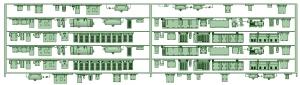 SB20-61 6連HS20【武蔵模型工房 Nゲージ 鉄道模型】