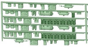 SB20-60 6連HB2000【武蔵模型工房 Nゲージ 鉄道模型】-2