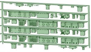 SB20-61 6連HS20【武蔵模型工房 Nゲージ 鉄道模型】-1