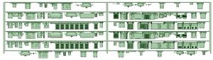 SB20-62 6連増備車【武蔵模型工房 Nゲージ 鉄道模型】