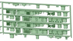 SB20-62 6連増備車【武蔵模型工房 Nゲージ 鉄道模型】-1