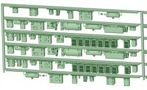 SB20-62 6連増備車【武蔵模型工房 Nゲージ 鉄道模型】-2