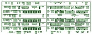 SB20-80 8連HB2000【武蔵模型工房 Nゲージ 鉄道模型】