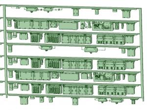 SB20-80 8連HB2000【武蔵模型工房 Nゲージ 鉄道模型】-1